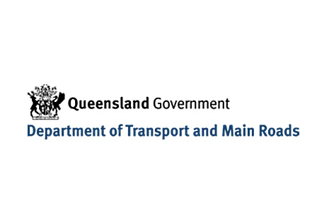 Transport and Main Roads Queensland logo